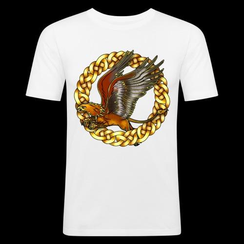 Golden Gryphon - Men's Slim Fit T-Shirt