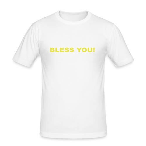 sneeze 2 color - Men's Slim Fit T-Shirt