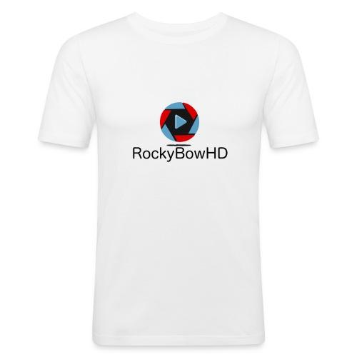 RockyBowHD - Männer Slim Fit T-Shirt