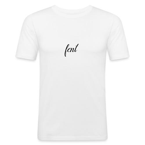 FENT grey t-shirt men - Mannen slim fit T-shirt