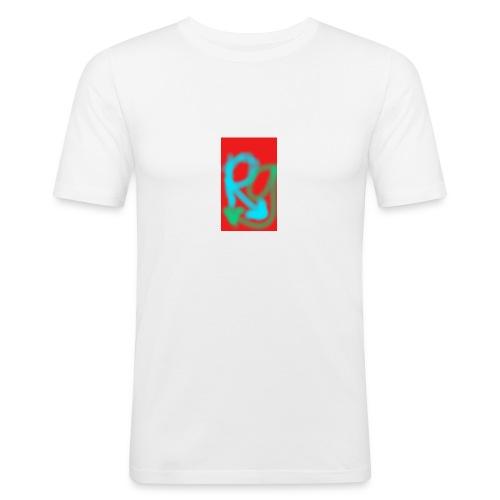 robingaming - Mannen slim fit T-shirt