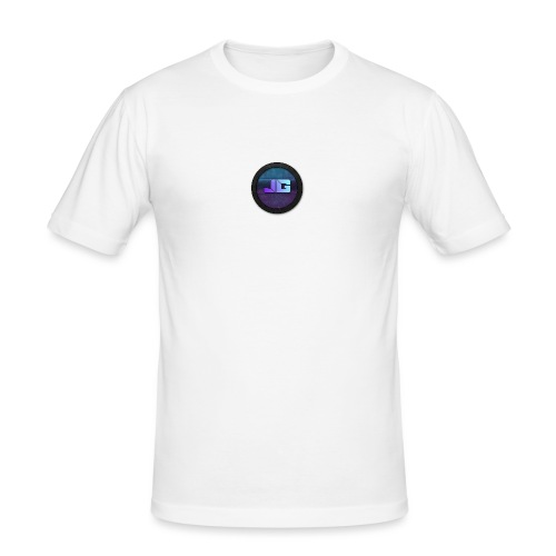 telefoon hoesje apple 5/5S - Mannen slim fit T-shirt