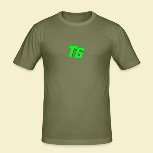 TristanGames logo merchandise - Mannen slim fit T-shirt