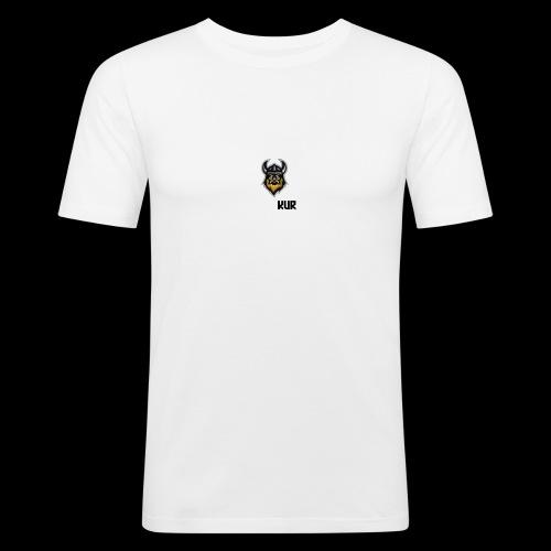 Logo transparent - Slim Fit T-skjorte for menn
