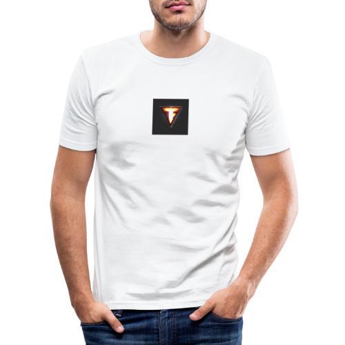 FUSION - Maglietta aderente da uomo