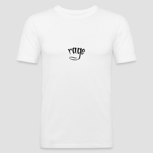 RAGE - Maglietta aderente da uomo