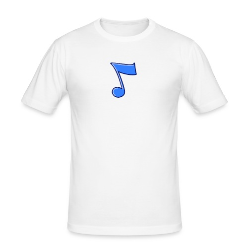 mbtwms_Musical_note - Mannen slim fit T-shirt
