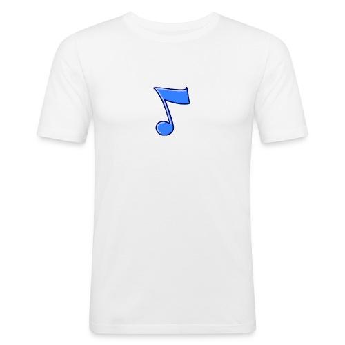 mbtwms_Musical_note - Mannen slim fit T-shirt