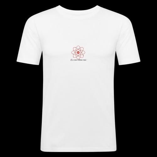 LinkyBrainsLogo2018 - Men's Slim Fit T-Shirt