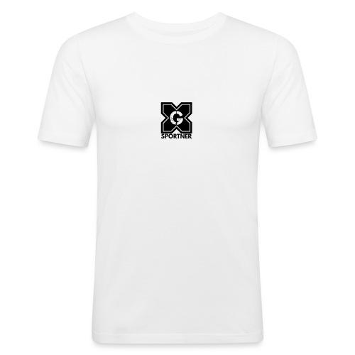 Logo GX SPORTNER noir - T-shirt près du corps Homme