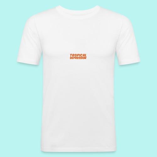 Tropical Depression - Männer Slim Fit T-Shirt