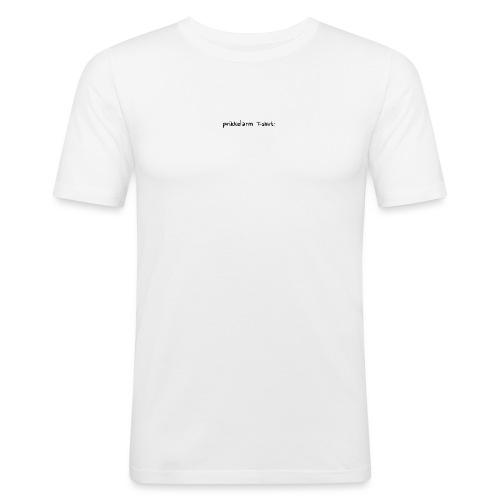 Prikkelarm t-shirt - Mannen slim fit T-shirt