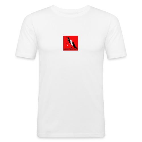 slalomskateboards com - Men's Slim Fit T-Shirt