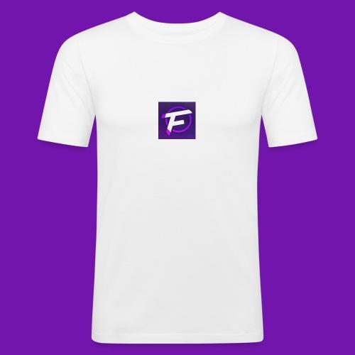 Flux Clan Logo - Men's Slim Fit T-Shirt