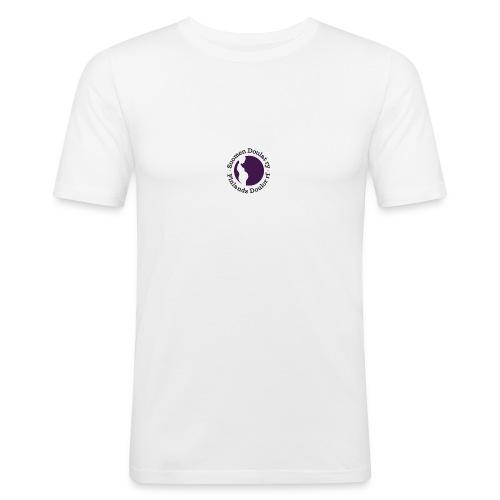 Suomen Doulat ry logo - Miesten tyköistuva t-paita
