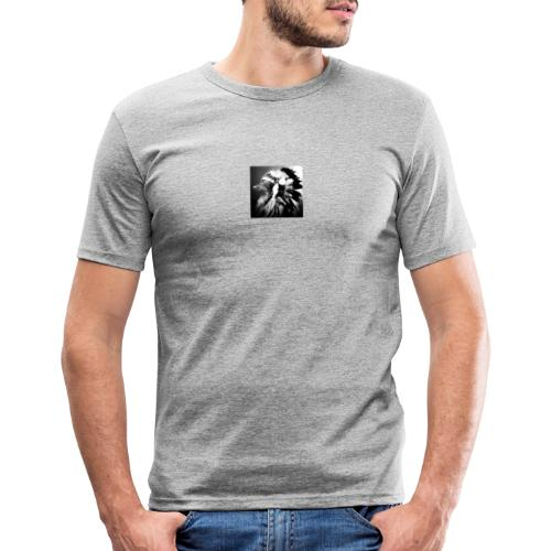 piniaindiana - Männer Slim Fit T-Shirt