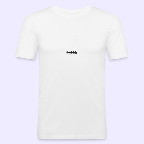 Klaaa Shirt - Männer Slim Fit T-Shirt