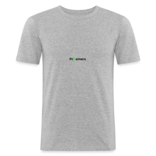 pcgamers-png - Maglietta aderente da uomo
