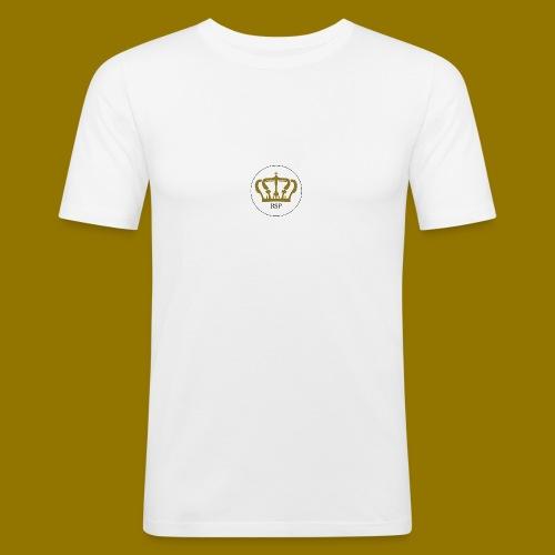RoyalSiPlus Krone - Männer Slim Fit T-Shirt