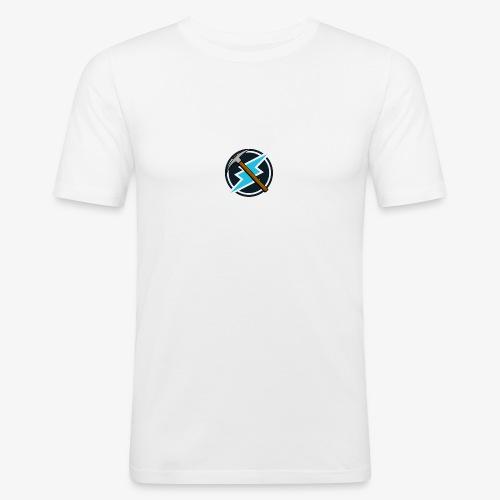Electroneum - Basic - T-shirt près du corps Homme