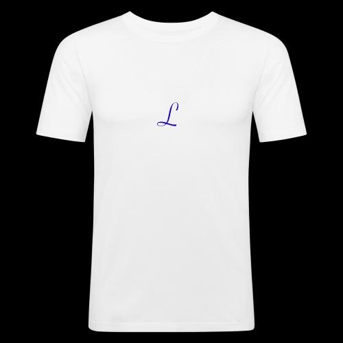Liberty logo - Mannen slim fit T-shirt