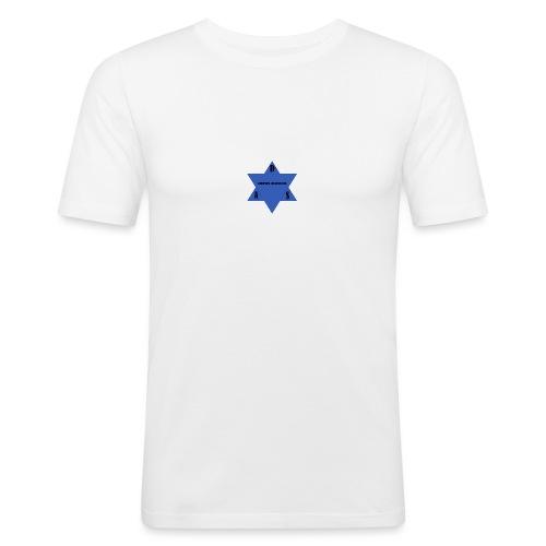 DAS first logo - Herre Slim Fit T-Shirt