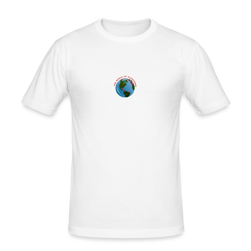 The World Of Scootering - Männer Slim Fit T-Shirt