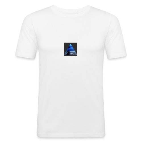 OceanBlue - Men's Slim Fit T-Shirt
