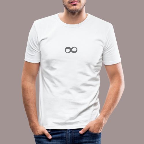L'infini - T-shirt près du corps Homme