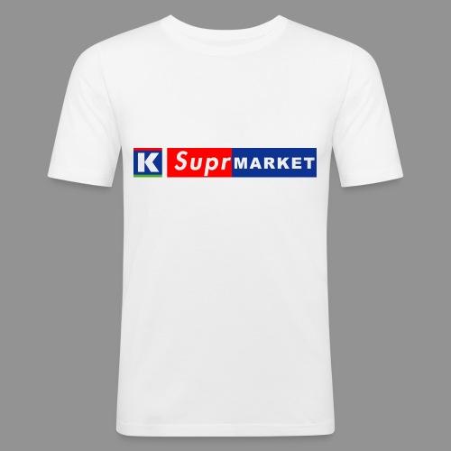 K-Suprmarket - Miesten tyköistuva t-paita