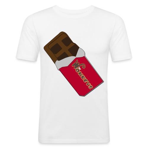 The Wonkeys Chocolate Edition - Maglietta aderente da uomo