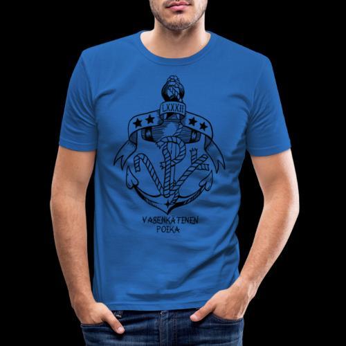 VP Ankkuri - Miesten tyköistuva t-paita