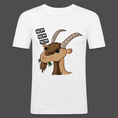 Lo stambecco puccioso - Maglietta aderente da uomo