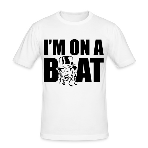 I'm on a boat - Men's Slim Fit T-Shirt