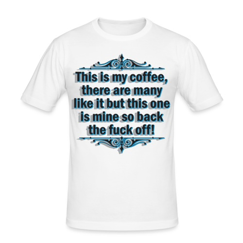 coffee - Men's Slim Fit T-Shirt
