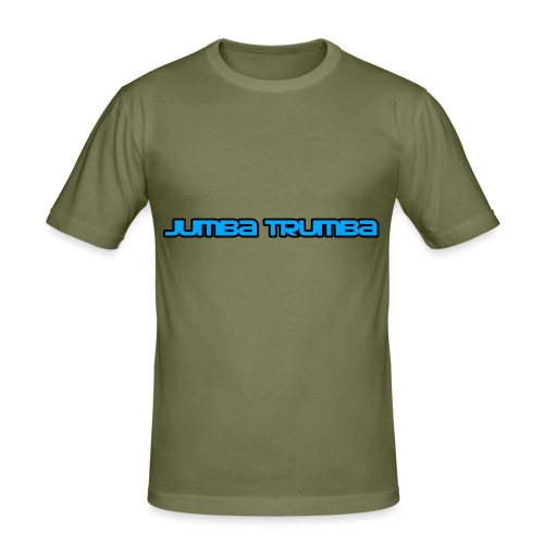 Jumba Trumba Spreadshirt - Men's Slim Fit T-Shirt