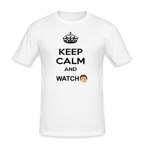 Keep Calm And Watch Anthonyos33 - Men's Slim Fit T-Shirt