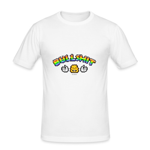 Bullshit - Männer Slim Fit T-Shirt