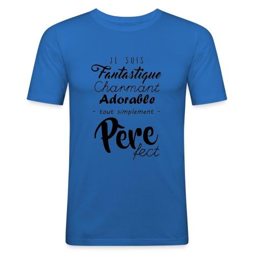 Pere fect - T-shirt près du corps Homme