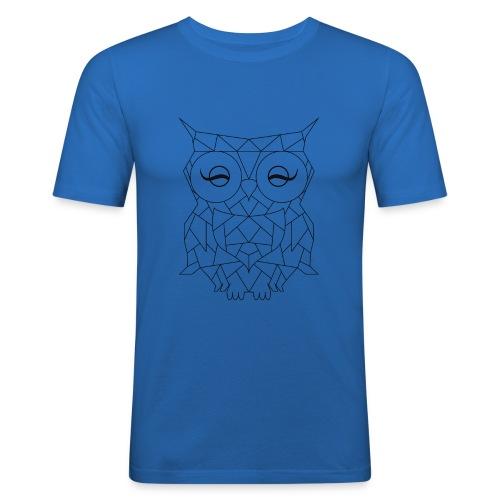 Geometric OWL - T-shirt près du corps Homme