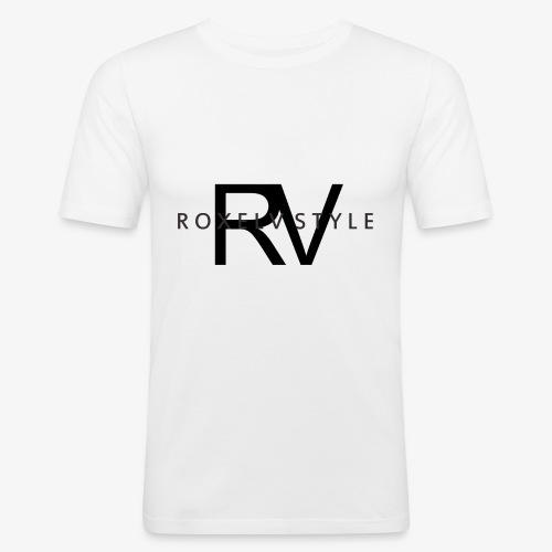RV STYLE - Slim Fit T-skjorte for menn