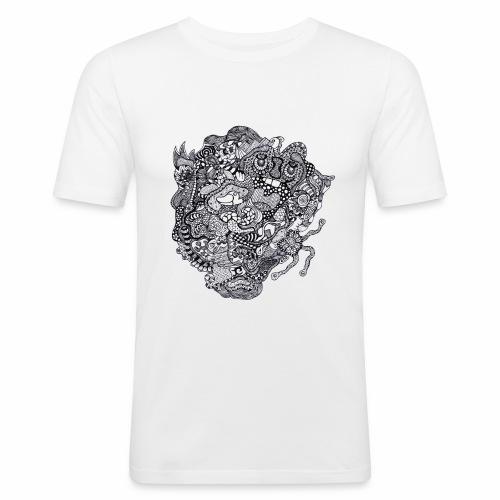 Crazy Duck - T-shirt près du corps Homme