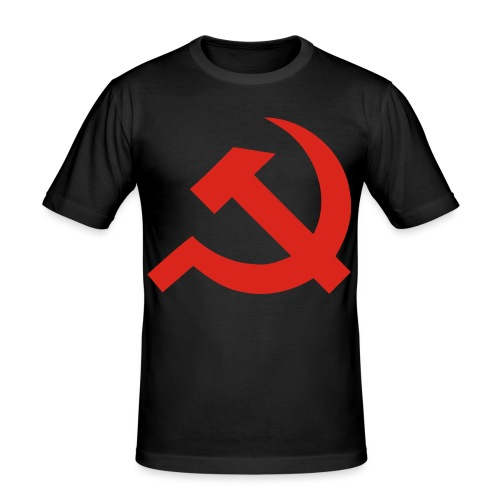 red Hammer and Sickle - T-shirt près du corps Homme