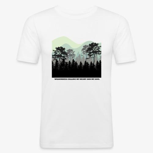 wearenature2 - Men's Slim Fit T-Shirt