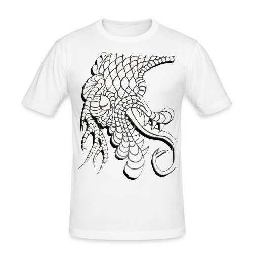 Design Number (6) - Men's Slim Fit T-Shirt