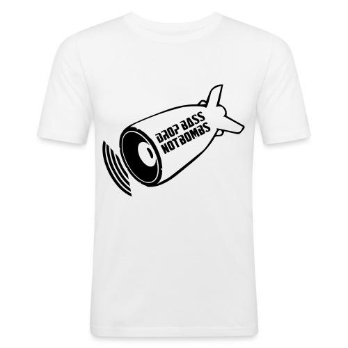 DBNB Black - Mannen slim fit T-shirt