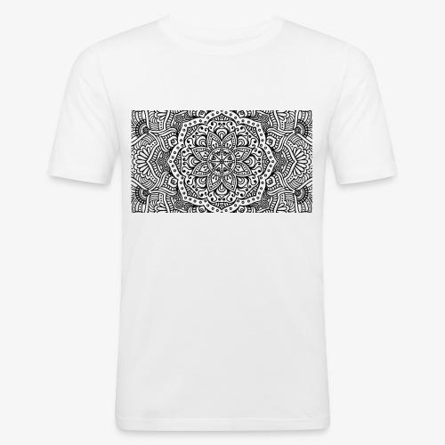 mandala1 - Men's Slim Fit T-Shirt