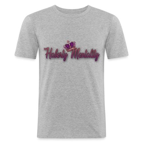 Haberty Mentality - T-shirt près du corps Homme