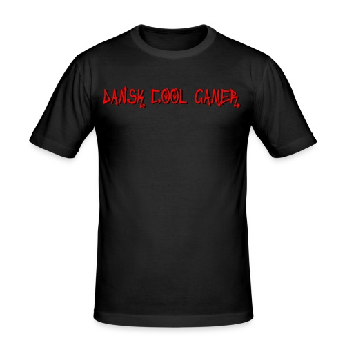 Dansk cool Gamer - Herre Slim Fit T-Shirt