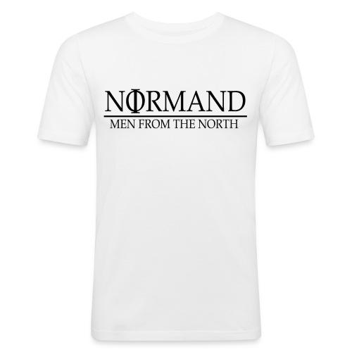 LOGO NORMAND - T-shirt près du corps Homme
